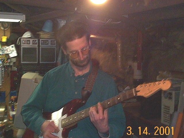 My strat and I...